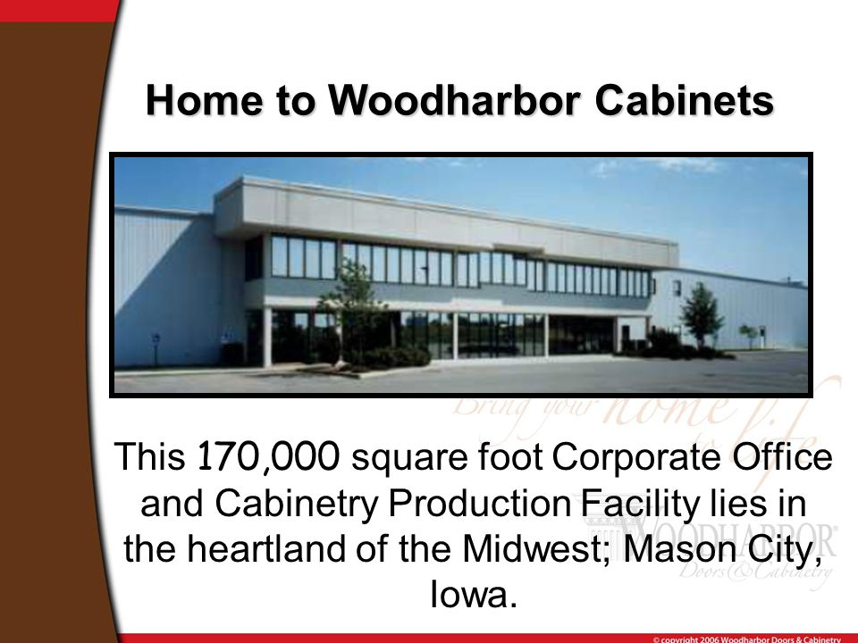 This 170,000 square foot Corporate Office and Cabinetry Production Facility lies in the heartland of the Midwest; Mason City, Iowa.