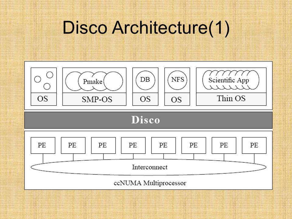 Disco Architecture(1)