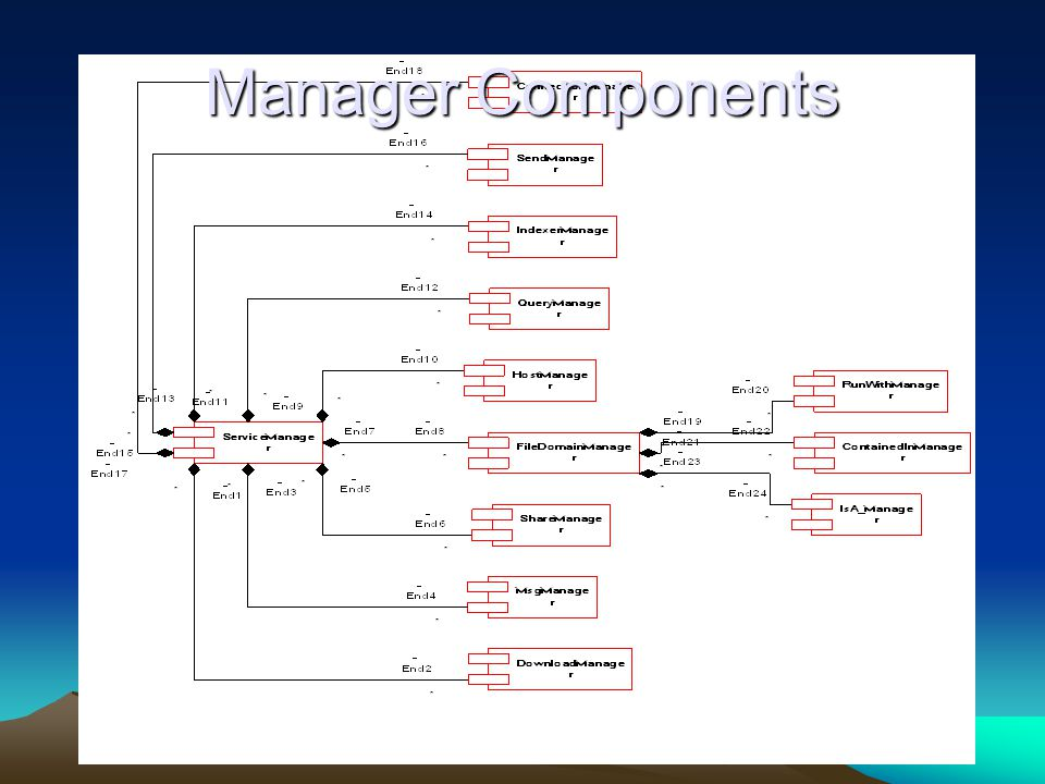 Manager Components