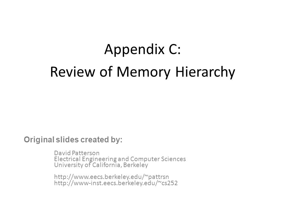 22 Outline Memory hierarchy Locality Cache design Virtual address spaces Page table layout TLB design options