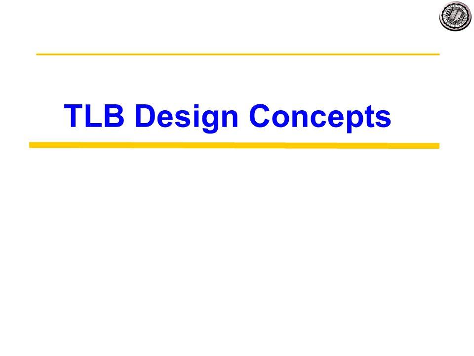 TLB Design Concepts