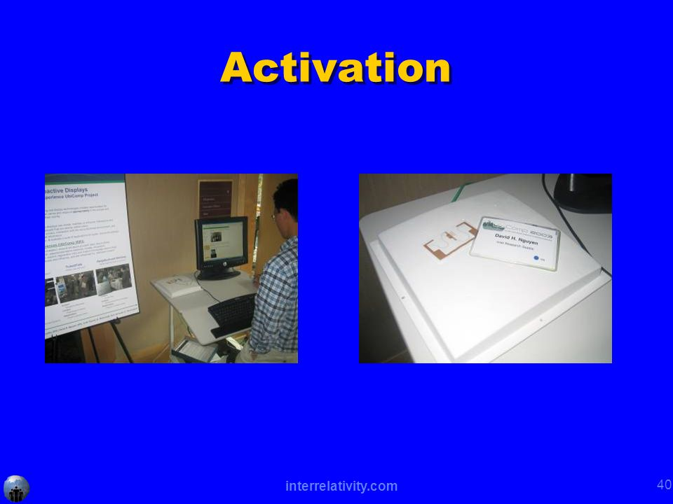 interrelativity.com 40 Activation