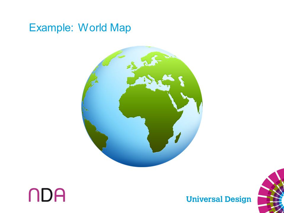 Example: World Map