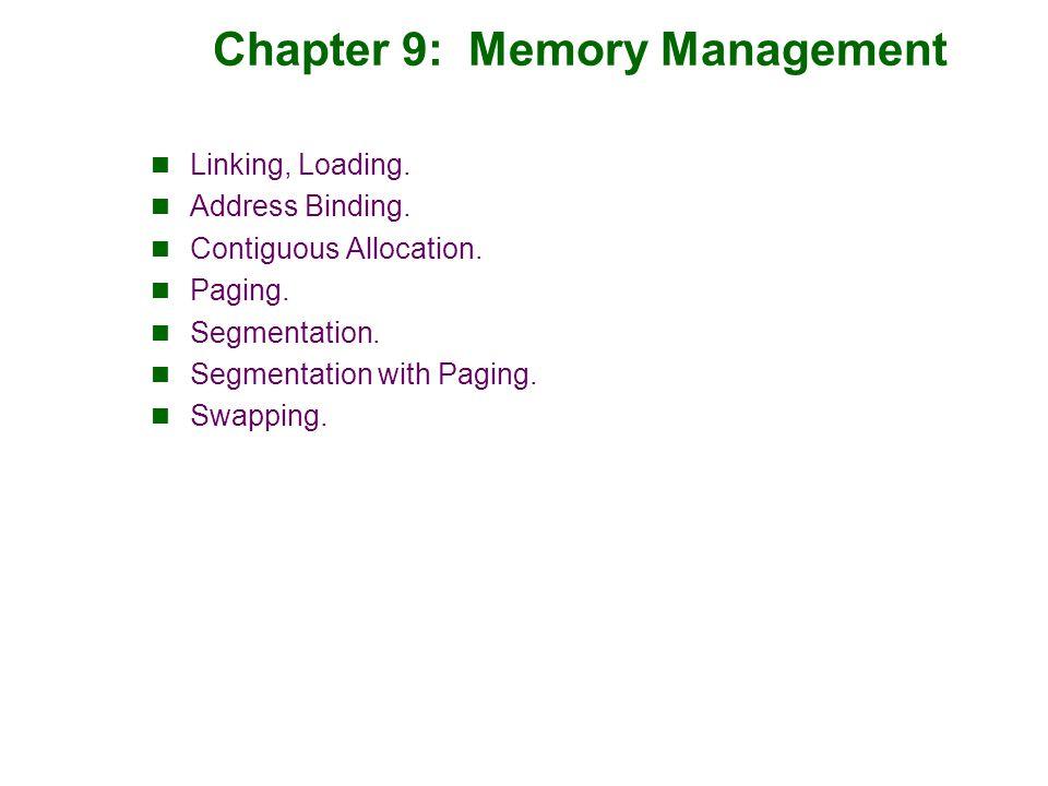 Segmentation Architecture Segmentation data structures:  Segment-number: index into segment table (below).