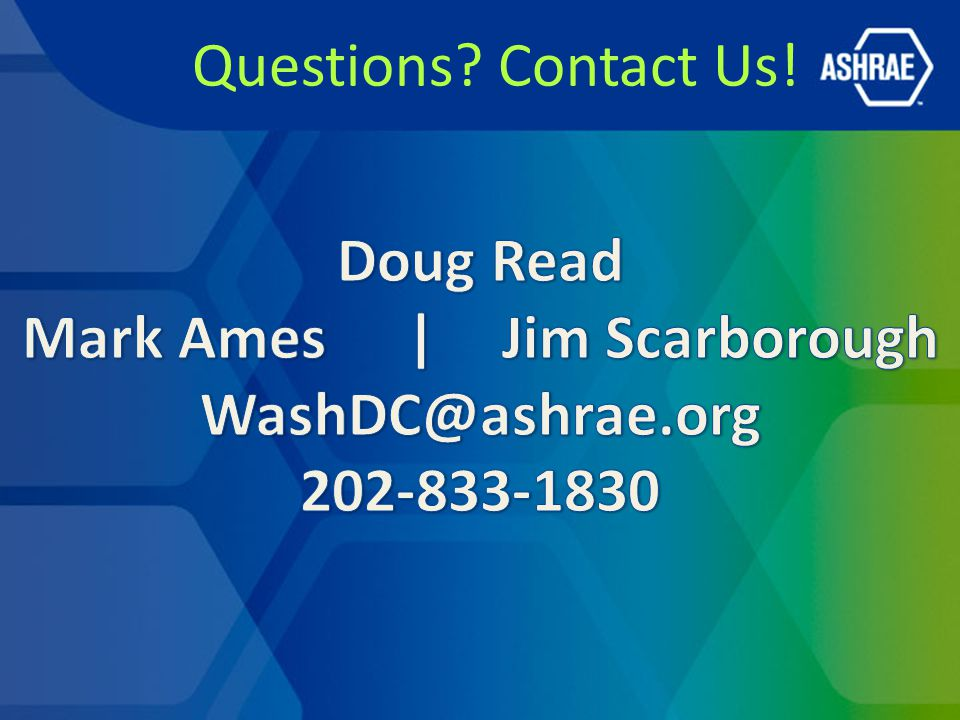 Questions Contact Us!