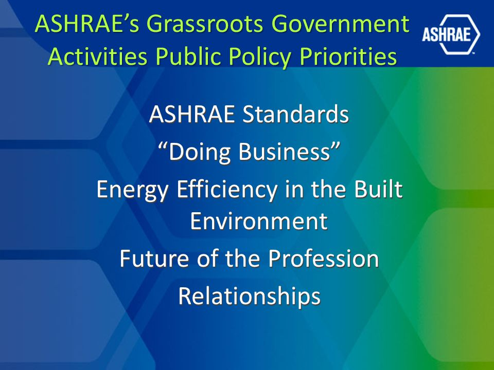 Government Activities and Advocacy