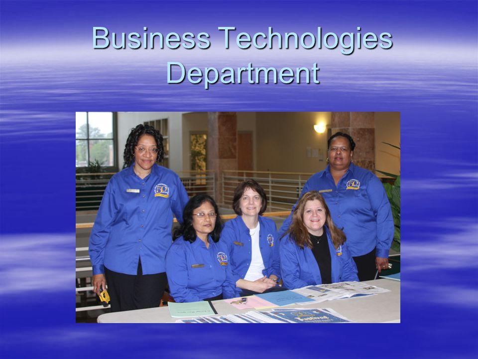 Business Technologies Department