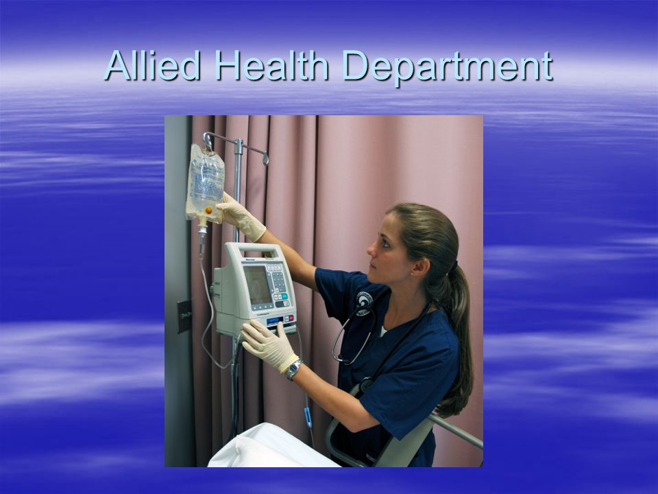 Allied Health Department