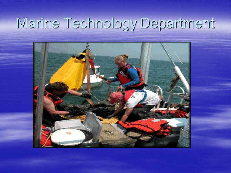 Marine Technology Department