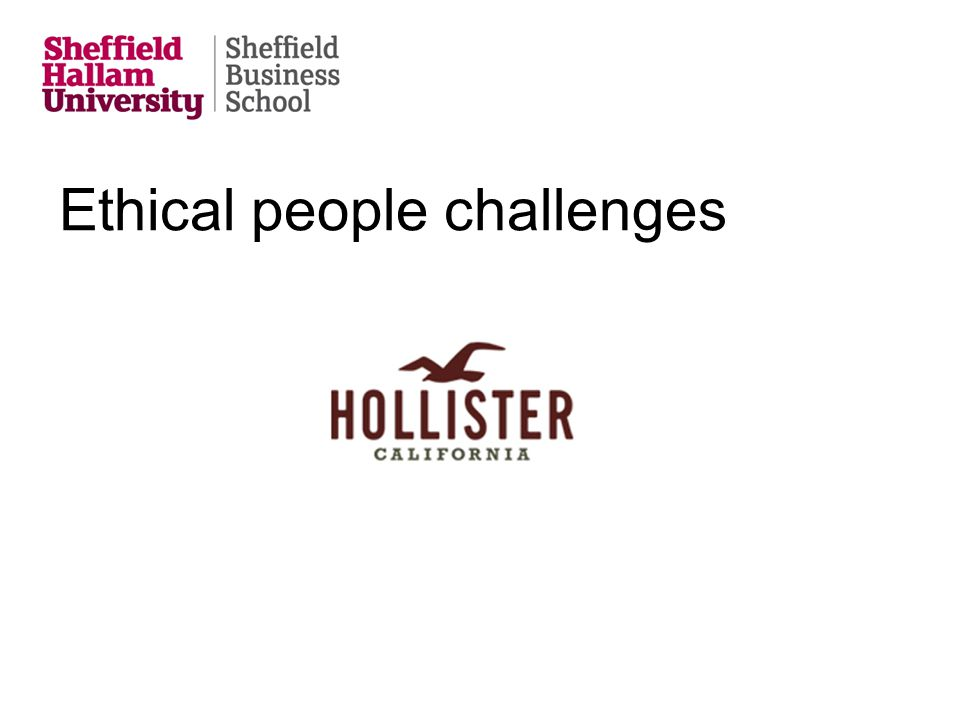 Ethical people challenges