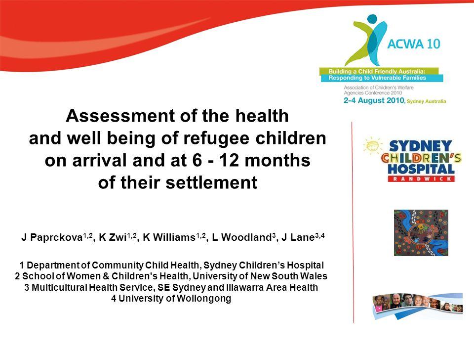 SCH Department of Community Child Health
