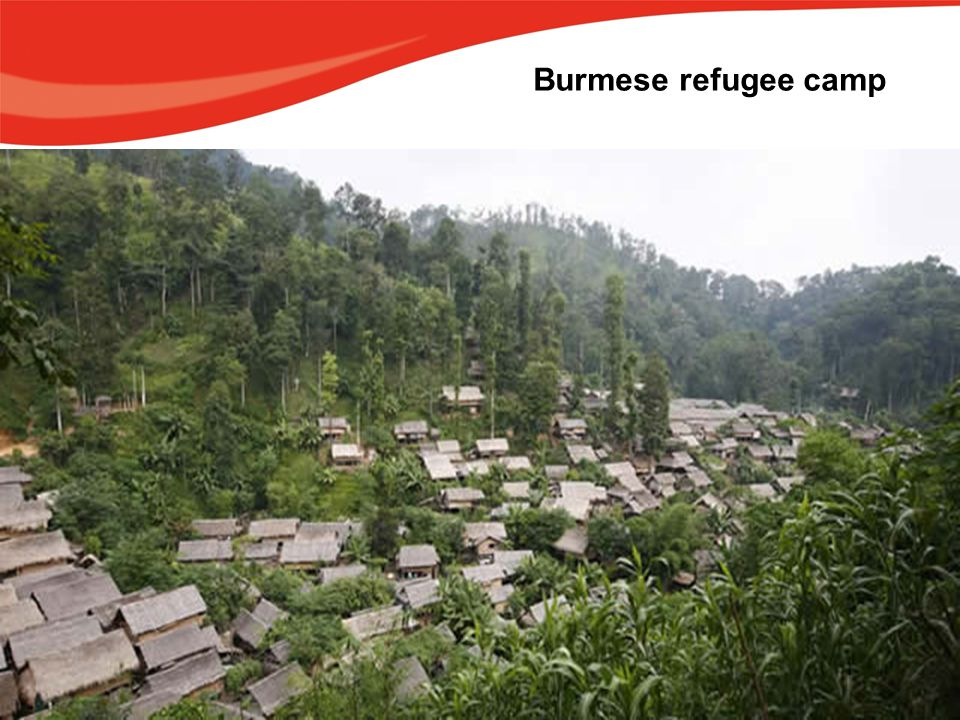 Burmese refugee camp