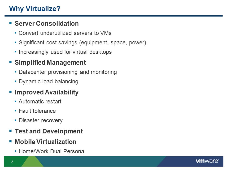 13 Overview  CPU Background  Virtualization and VMs  CPU Virtualization System ISA Virtualization Instruction Interpretation Trap and Emulate Binary Translation Para-Virtualization Hardware Assisted Virtualization  Memory Virtualization