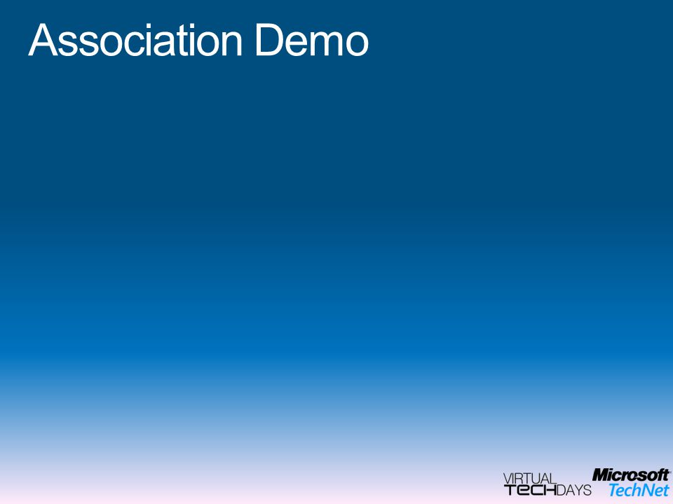 Association Demo