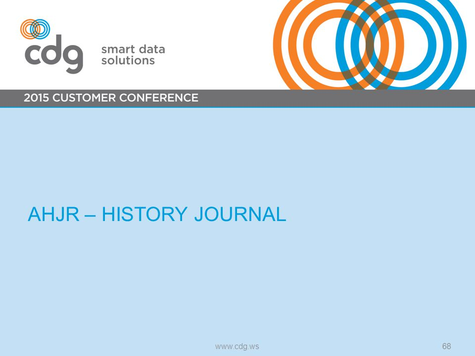 AHJR – HISTORY JOURNAL www.cdg.ws68