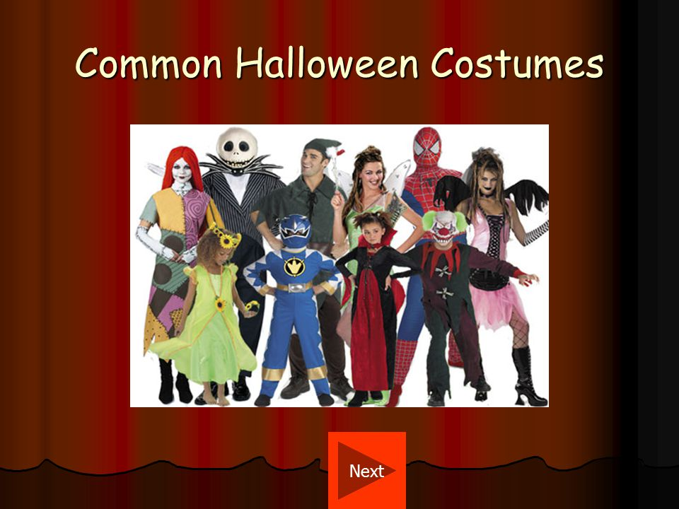 Halloween Costumes Today In recent years, it has become common for costumes to be based on themes other than traditional horror, such as dressing up as a character from a TV show or movie, or choosing a recognizable face from the public sphere.