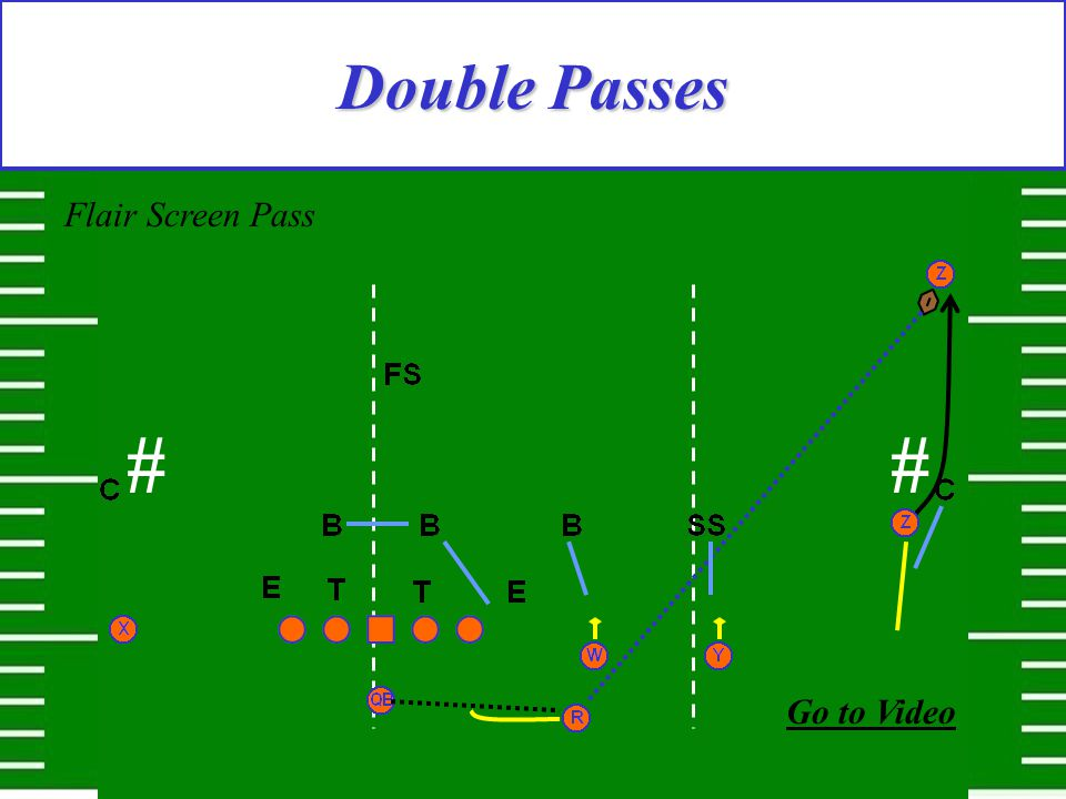 Double Passes Flair Screen Pass ## Go to Video