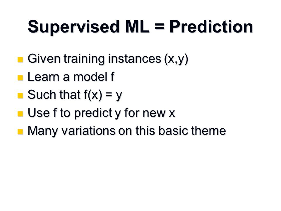 Why might predictions be wrong.