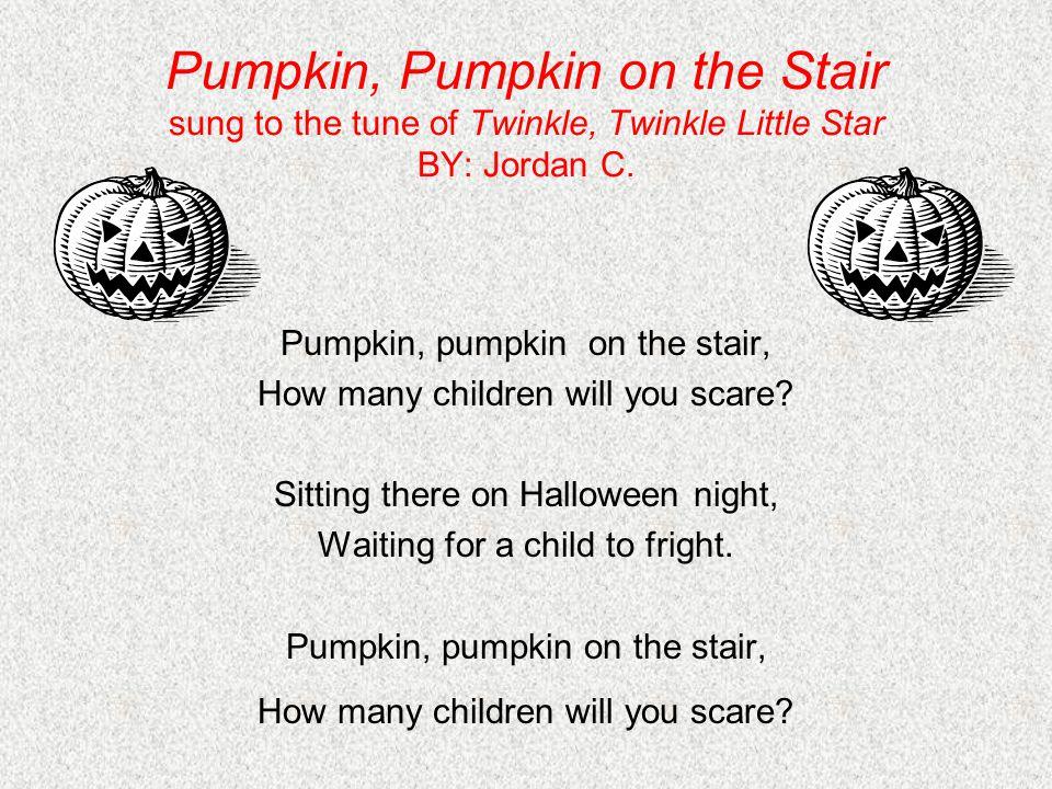Halloween Lyrics tune: London Bridge By: Thomas S.