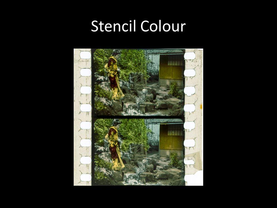 Stencil Colour