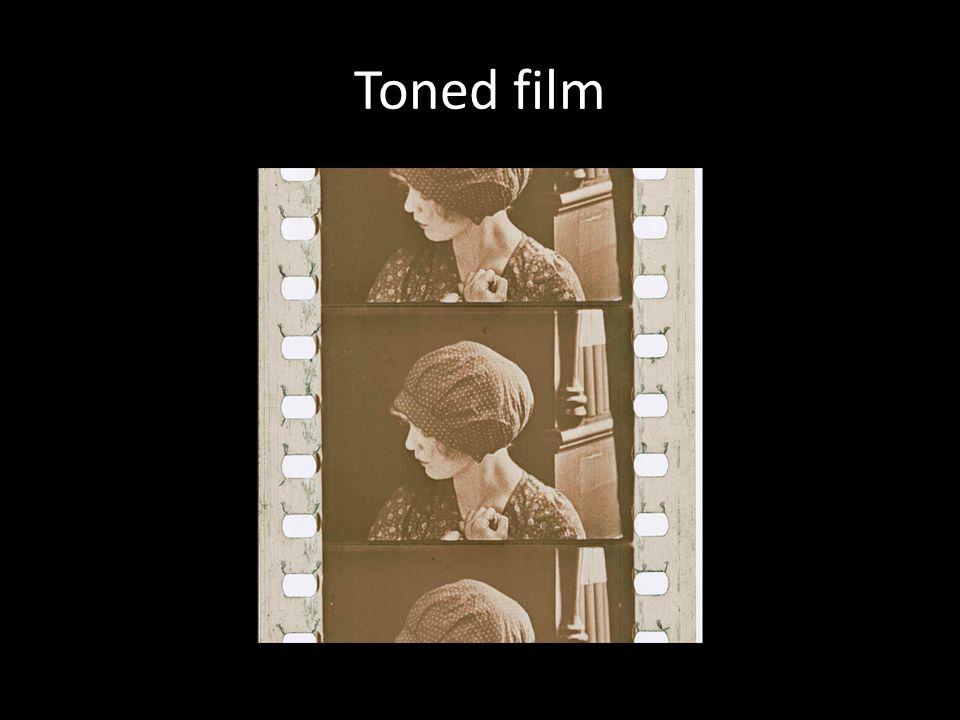 Toned film