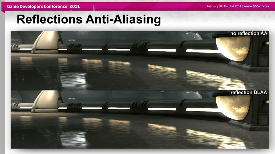 Reflections Anti-Aliasing