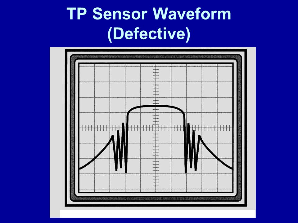 TP Sensor Waveform (Defective)