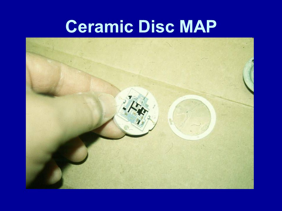 Ceramic Disc MAP