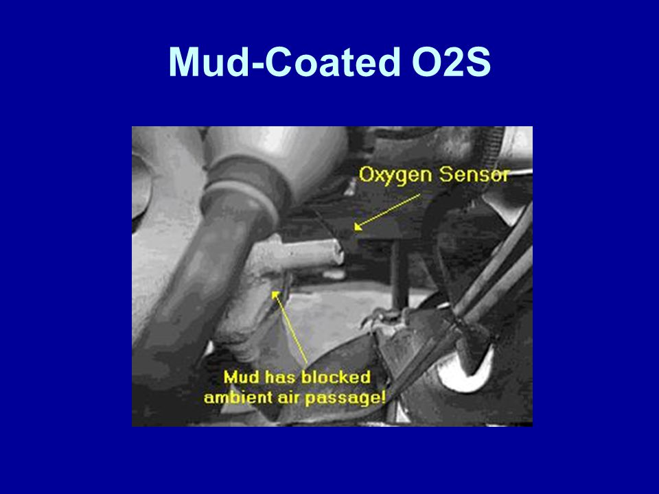 Mud-Coated O2S