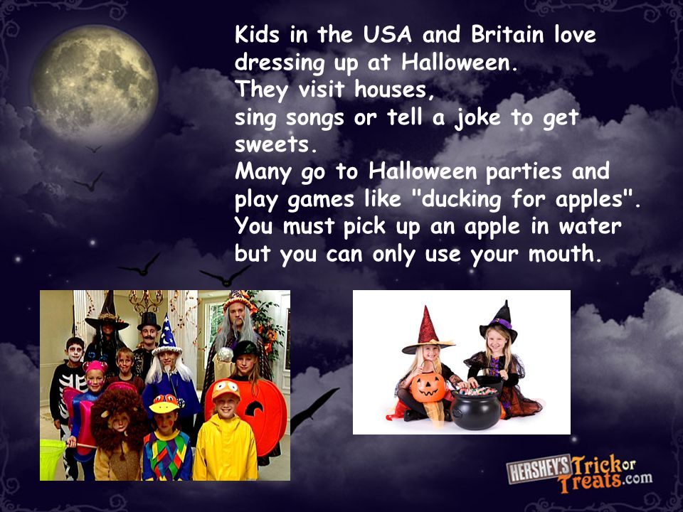 Fill in the Gaps in your booklet (2) Halloween became a night of horror. Irish children carved out pumpkins and lit them with candles for Halloween. N