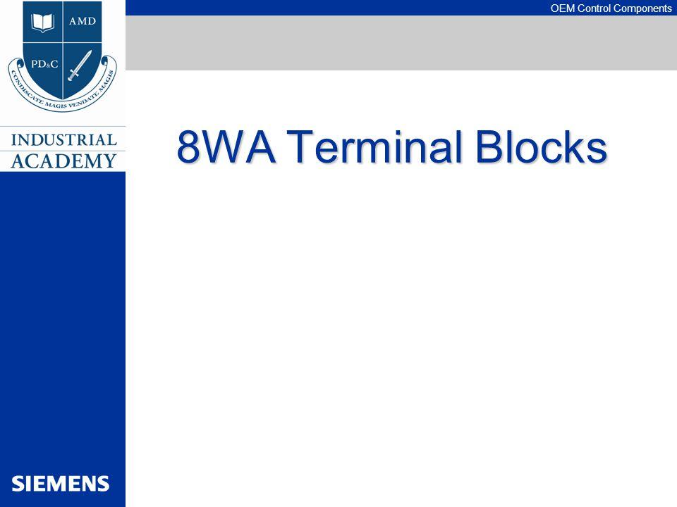 OEM Control Components 8WA Terminal Blocks