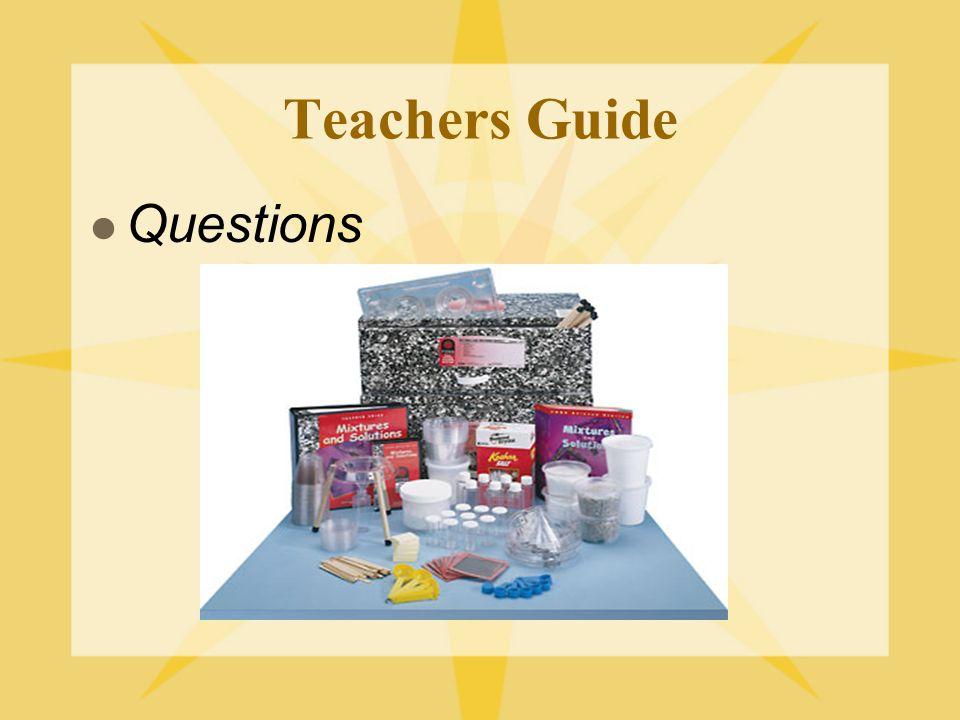 Teachers Guide Questions