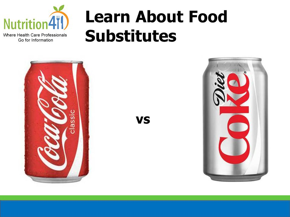Learn About Food Substitutes vs