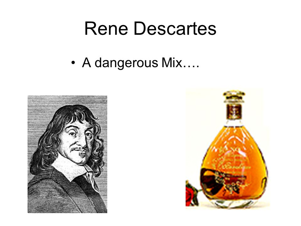 Proof of God's Existence Descartes is a lower being.