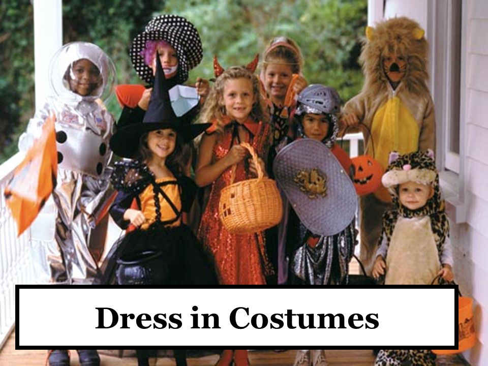 Dress in Costumes