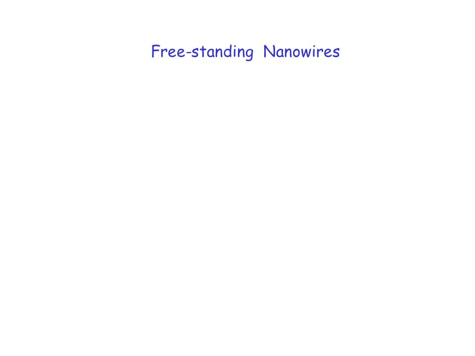 Free-standing Nanowires