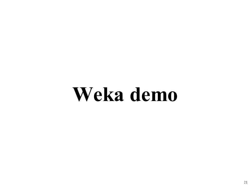 Weka demo 21