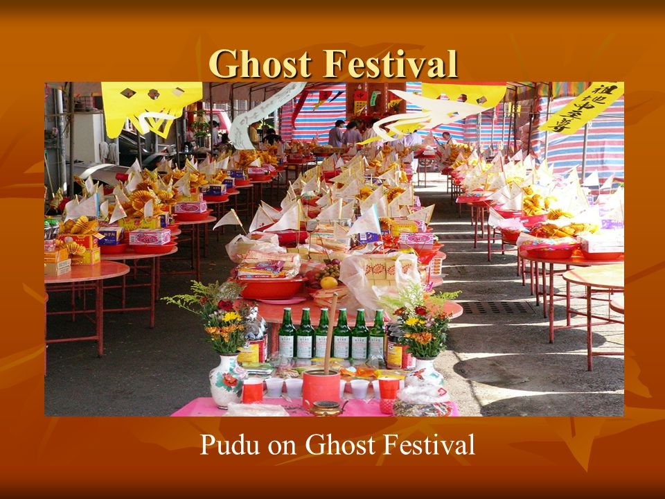 Ghost Festival Chiang Ku ceremony