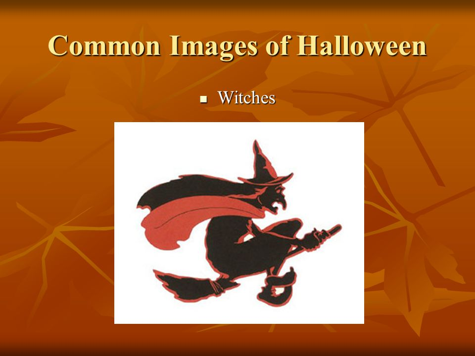 Common Images of Halloween Witches Witches