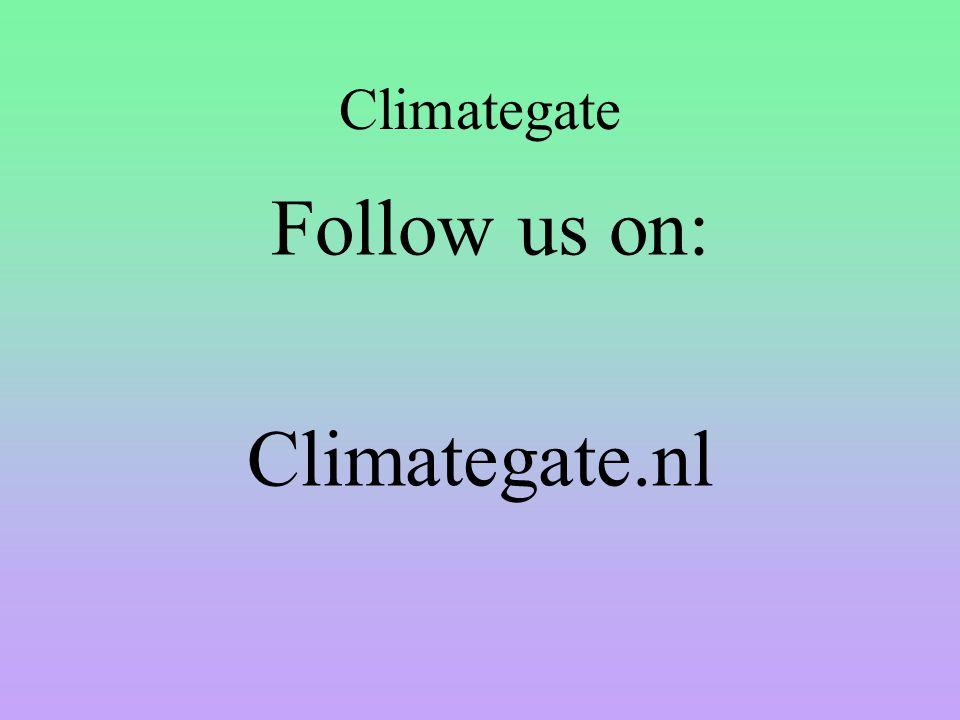 Climategate Follow us on: Climategate.nl