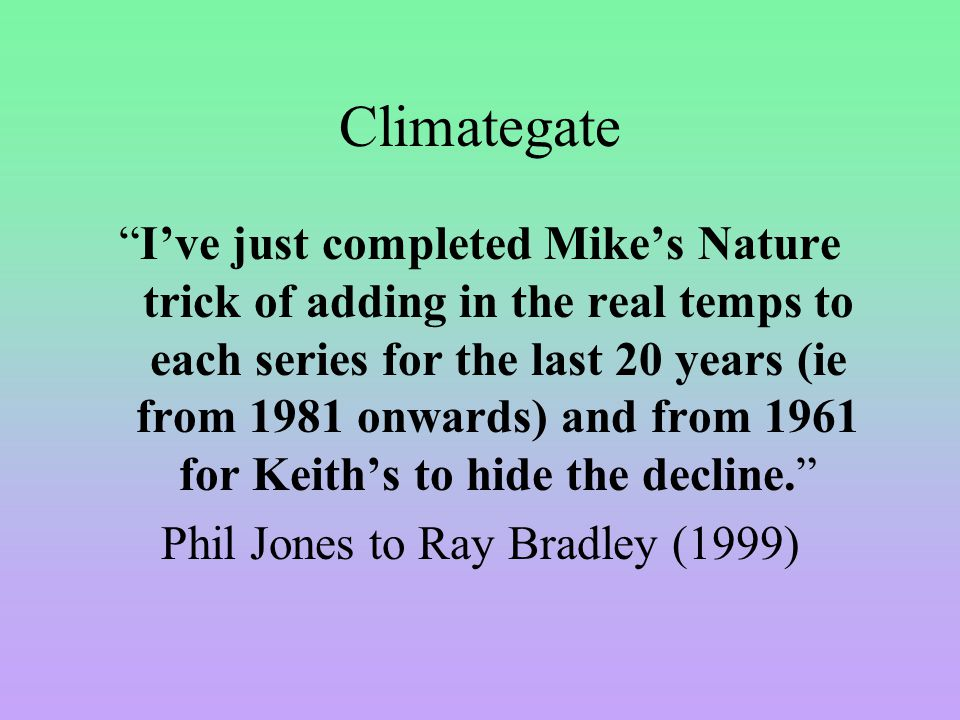 Now some simple logic Even if you do accept the global temperature datasets and accepts 0.8 degree C of warming, this does not proof AGW.