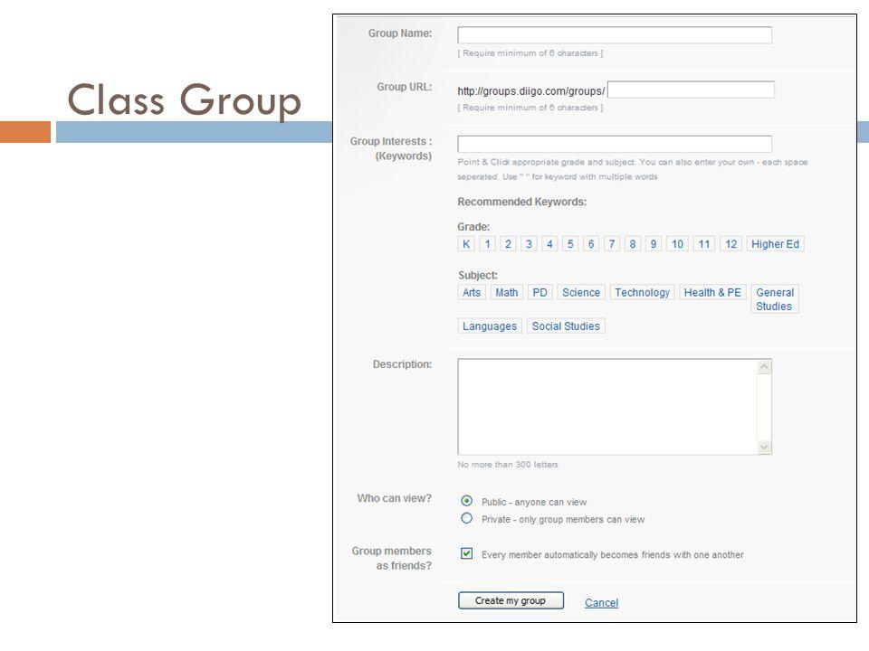 Class Group