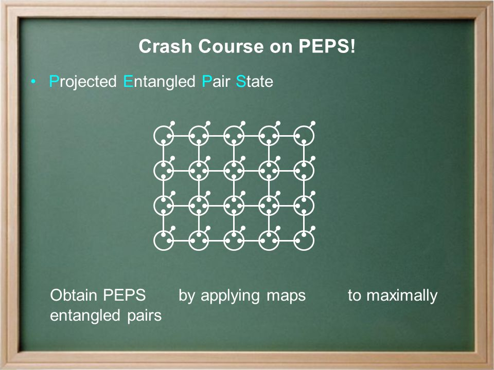 Crash Course on PEPS.