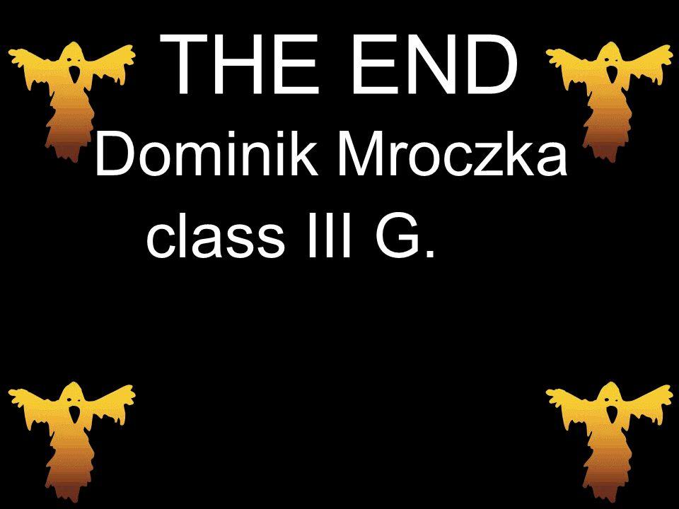 THE END Dominik Mroczka class III G.