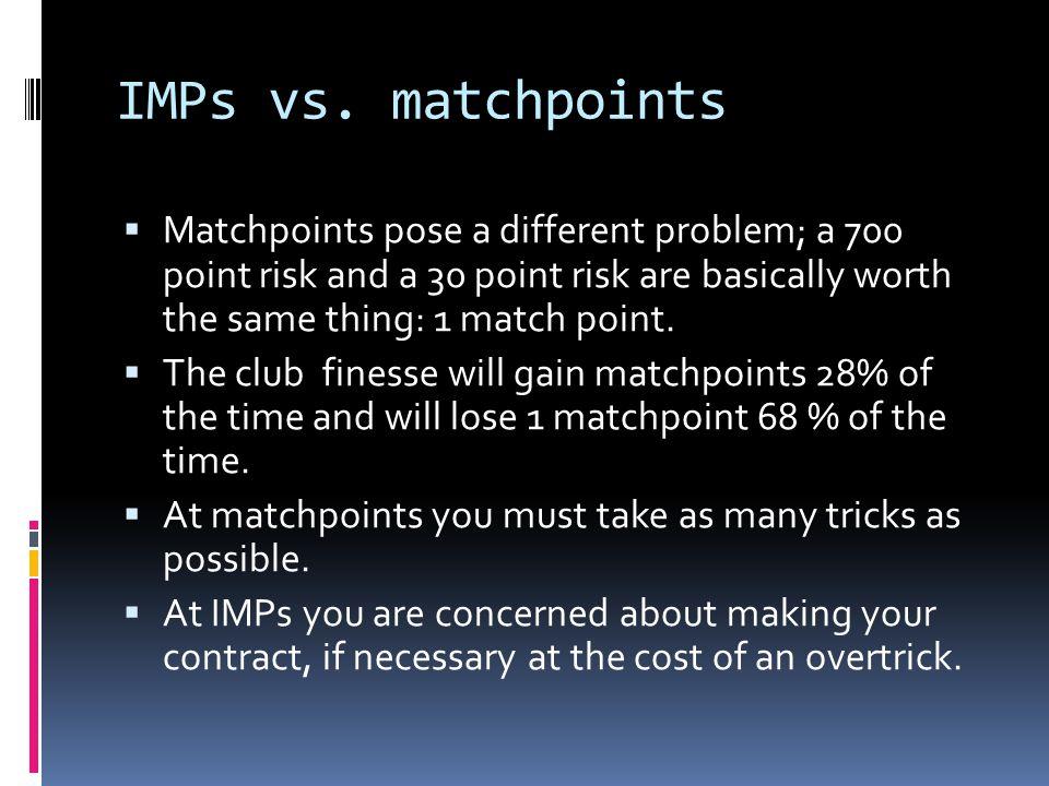 IMPs vs.