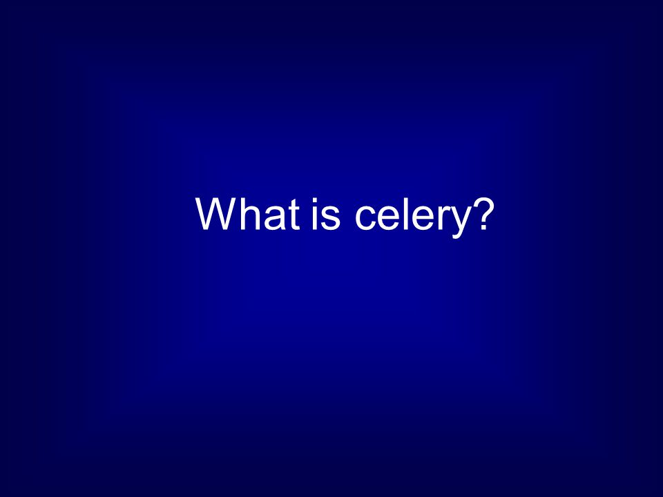 What is celery