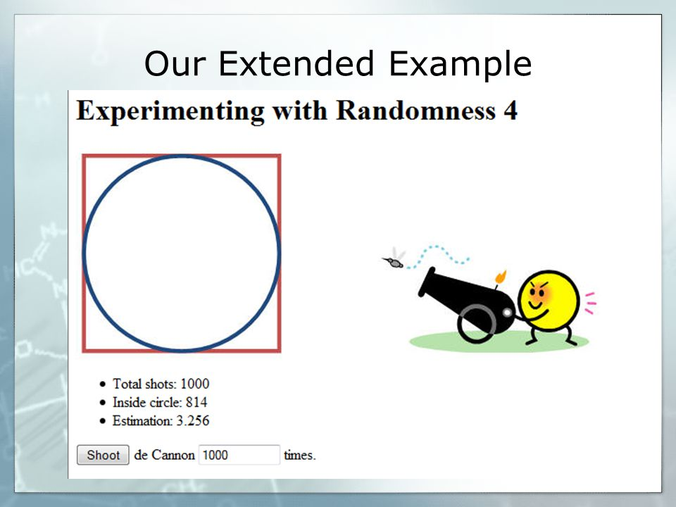 Our Extended Example
