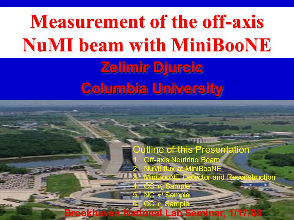We performed analyses of neutrinos from NuMI beam observed with MiniBooNE detector.