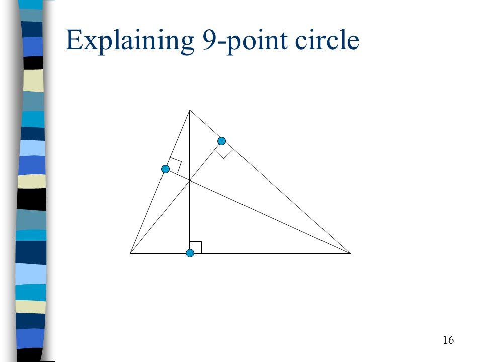16 Explaining 9-point circle