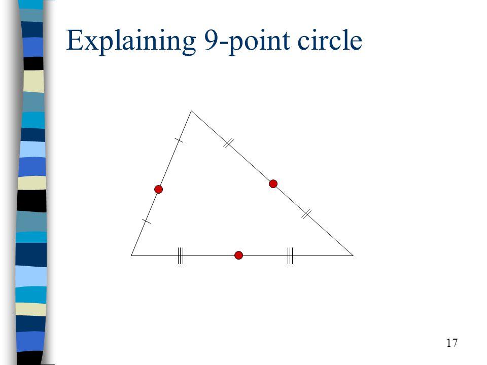 17 Explaining 9-point circle